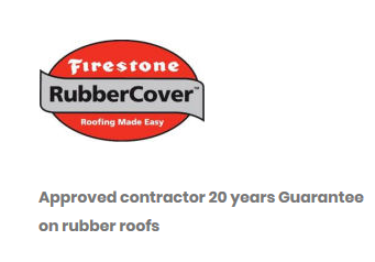 angevin firestone rubber cover approved contractor sussex