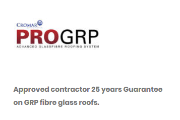 angevin grp fibre glass roofs approved contractor