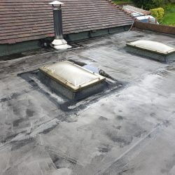 Roof before renewal