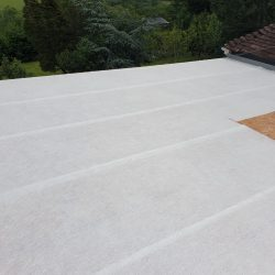 GRP matting down, next stage resin and top coat